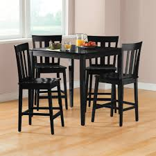 fabulous mainstays piece dining set multiple colors walmart with black dining room table