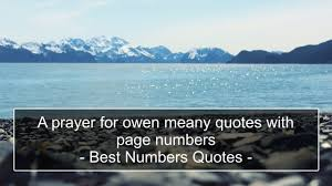 a prayer for owen meany quotes page numbers best numbers a prayer for owen meany quotes page numbers best numbers regarding a prayer for owen meany quotes