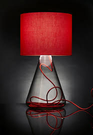 innovative decoration red glass table lamp contemporary ideas amazing red table lamp 25 best ideas about