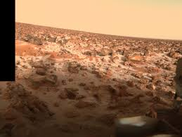 Viking Lander 2 Camera 1 Frost Low Resolution Color The