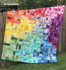 245 best Rainbow quilts images on Pinterest | Contemporary ... & 245 best Rainbow quilts images on Pinterest | Contemporary, Embroidery and  Jewel Adamdwight.com
