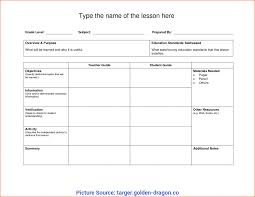 Blank Lesson Plan Templates Top Blank Lesson Plan Template Nz Unit Lesson Plans Template