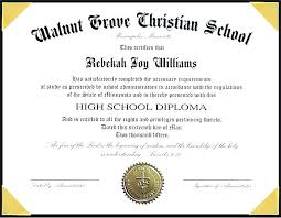 Sample Of High School Diploma Certificate Loveperu Co