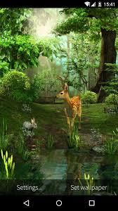 forest hd live wallpaper free apk. 3d deer-nature live wallpaper- screenshot forest hd wallpaper free apk