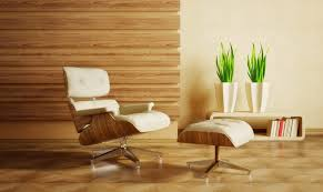 Wood Interior Design Decoration Luxury Living Room With White Wall Color Interior