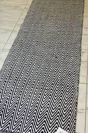 gold and white runner rugs chevron rug black modern decor
