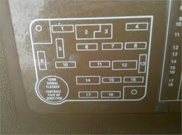 solved need diagram for 1987 ford bronco fuse panel fixya i need a diagram for fuse panel for a 1987 ford bronco