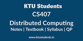 Distributed Systems Concepts And Design Fifth Edition Cs407 Distributed Computing Notes Textbook Syllabus