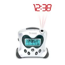 alarm clock that projects time on ceiling scientific projection atomic alarm clock with indoor temperature alarm