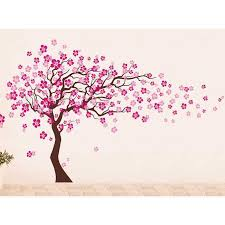 Small Picture Cherry Blossom Tree Wall Decal auall311 7900 wall stickers