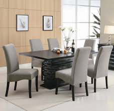 luxury black dining table and chairs black dining room sets wqrnklt