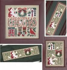 Little Bits Of Christmas Cross Stitch Pattern