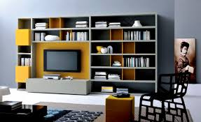 Furniture : Modern Storage Wall Unit Save The Space With Its Role ...