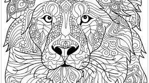 Lion Mandala Coloring Pages Brilliant For Teenagers Animal 17