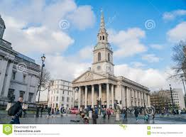 Exterior View Of The St Martin-in-the-Fields Church Editorial Stock Photo -  Image of downtown, europe: 119736283