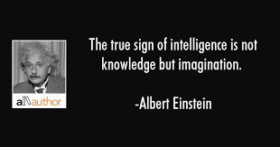 Einstein Quotes Classy The True Sign Of Intelligence Is Not Quote