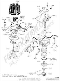 Ford truck technical drawings and schematics section i striking 302 distributor wiring