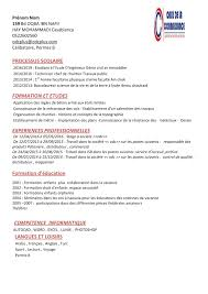 Comment Creer Un Cv Centre De Formation A Casablanca