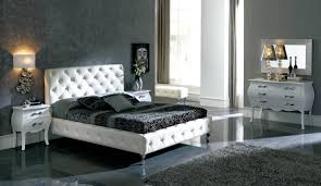 Mirror Bedroom Set Nelly Bedroom Set White Bed Dresser Mirror And 2 Nightstands