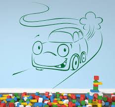 Auto Auf Straße Aufkleber Tenstickers