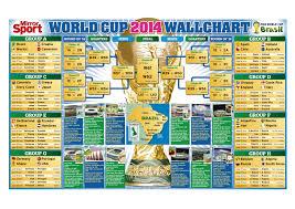 World Cup Fixture Chart World Cup Fixture Chart Heathfield Herald