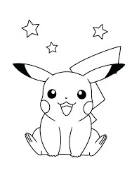 pikachu coloring pages free coloring pages to print a pokemon coloring pages mega pikachu