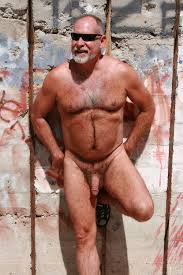 Naked older gay bears