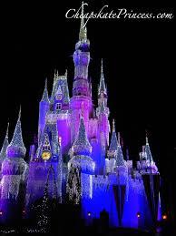 Castle Christmas Lights Cinderella Castle Christmas Lights Disneys Cheapskate