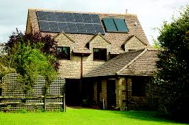 roof mounted pv and thermal solar panels