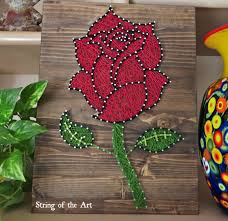 How To Do String Art After Making The Giant String Art Ampersand I Became A Bit Of An