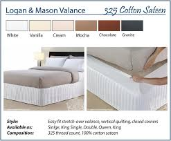 SUPER SPECIAL Logan & Mason Easy Fit Quilted Valance Bed Wrap ... & Image is loading SUPER-SPECIAL-Logan-amp-Mason-Easy-Fit-Quilted- Adamdwight.com