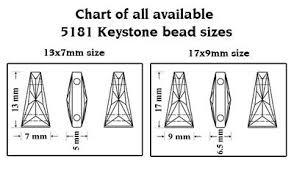 Genuine Swarovski 5181 Keystone Crystal Beads 2 Strands