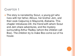 chapter summaries for to kill a mockingbird  3