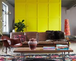 A seating area in the home of Petra Janssen and Edwin Vollebergh, located  in the