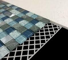 mosaic mesh self adhesive high grab stiffening mosaicfix tile backing sheet