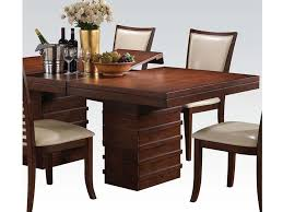 pacifica dining table in cherry