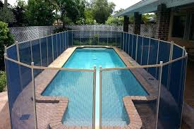 average of a pool pool fence cost average cost of mesh pool fence glass pool