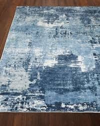 image 1 of 3 blue horizon rug 8 x 10