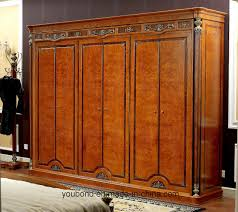 italian wood furniture. China 0029 Italian Royal Wooden Furniture Style Luxury Brass Decoration Waredrobe - Bedroom Set Furniture, Wood D