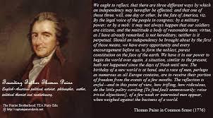 Common Sense Thomas Paine Quotes New THOMAS PAINE'S COMMON SENSE 48 A Prophetic Warning To America