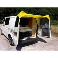 barn door awning for vw t5 yellow awnings accessories
