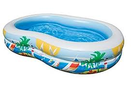 intex swimming pool for kids. Beautiful For Intex Swim Center Inflatable Paradise Seaside Kids Swimming Pool  56490EP And For E
