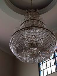 cleaning and repair or replacement crystals chandelier