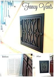 s decorative air return diy cold vent covers