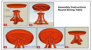 dining table extending mechanism