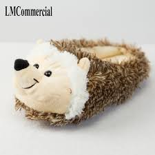 <b>Indoor Slippers Special dog</b> offer custom a warm winter hedgeh ...
