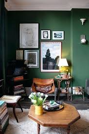 green room decor green wall grunge fusion style full of stuff