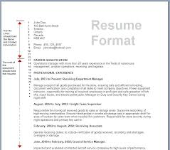 Different Types Of Resume Format Kinds Of Resume Format Rawdaljinan Com