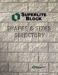shapes pdf superlite block