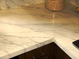 image of ekbacken countertop white marble effect